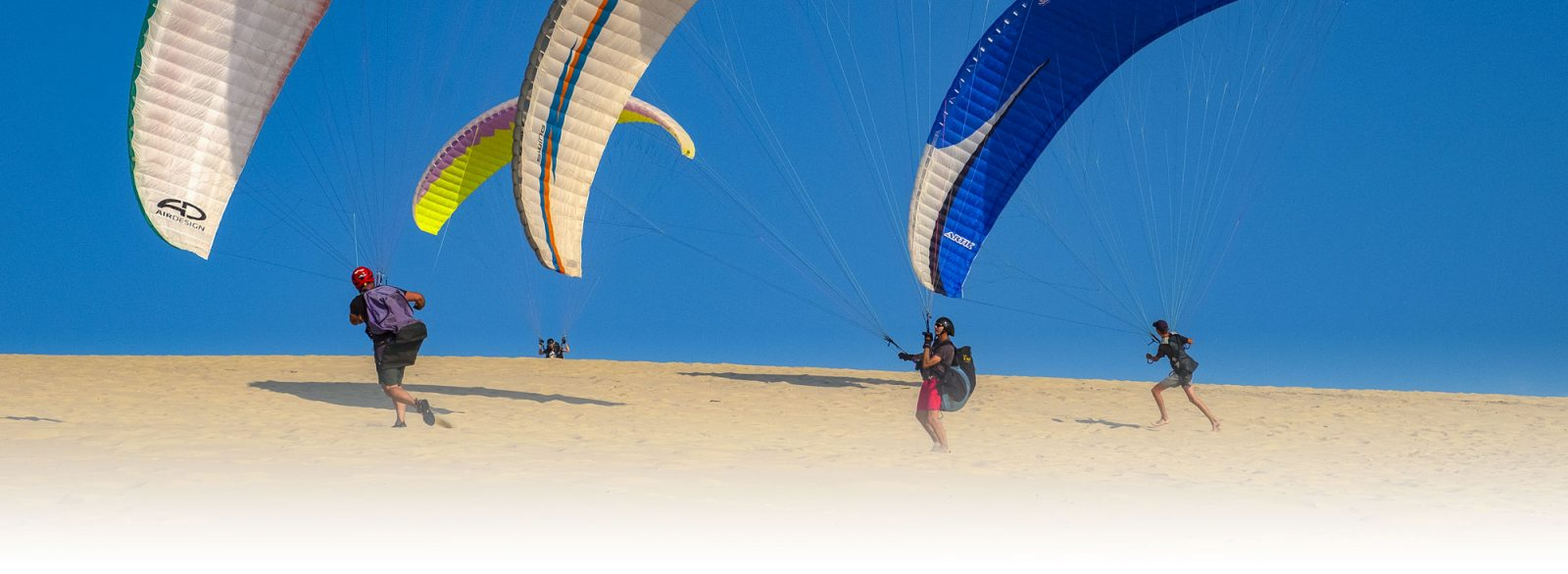 Biplace parapente ascendances
